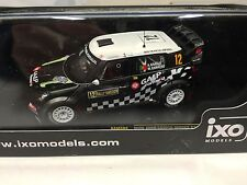 MINI JOHN COOPER WORKS ARAUJO SWEDEN 2012 IXO RALLY 1:43 DIECAST-CAR RAM504