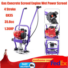 358cc 4stroke Concrete Vibrator Gas Power Gasoline Engine Screed Cement Machine