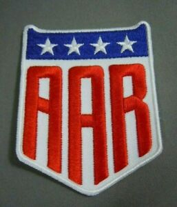 """AAR-All American Racers Iron-On Patch 3"""" Gurney-Shelby-USAC-CART-IMSA-F1"""