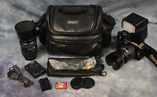 Olympus EVOLT E-300 8.0 MP Digital SLR Camera - Black - with plenty of extras