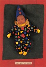 Carte Postale - Anne - GEDDES - BéBé Petit clown