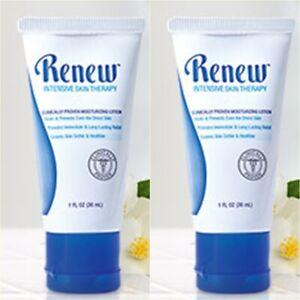 2x Melaleuca Renew Intensive Skin Therapy Moisturizing Lotion Travel Size 30ml
