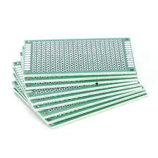 10X Double Side Prototype PCB Universal Board Circuit Imprimé 4x6cm 2.54mm