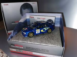Corgi Colin McRae Tribute Collection Subaru Impreza *MEGA RARE 1st ISSUE