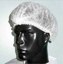 [XM] 200PCS Disposable Dust Cap Bath Hair Nets Sepia Mop Spray Protection