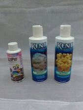 Lot of 3 Kent Marine Phytoplex Microvert Health Aid PraziPro For Freshwater & Ma