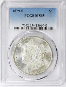 1879-S Morgan Silver Dollar - PCGS MS-65 - Certified Mint State 65