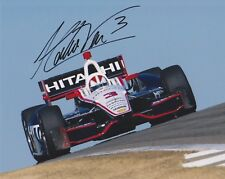 3X Indianapolis 500 winner HELIO CASTRONEVES Signed Indy 8x10 Photo
