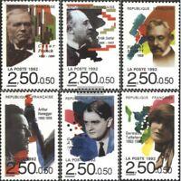 Frankreich 2892-2897 (kompl.Ausg.) gestempelt 1992 Komponisten