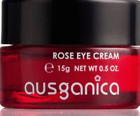 Ausganica - Rose Eye Cream 15g - Bio Augencreme Anti-Aging - Anti-Falten Löschen