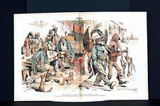 Thanksgiving Turkey Raffle 1888 Harrison Morton WIN ROLL of DICE Cleveland LOSER