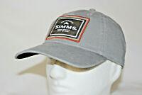 Simms Fly Fishing Single Haul Adjustable Snapback Cap Hat in Gunmetal OSFM