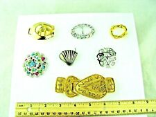 BROOCH, Accessocraft NYC BUCKLE, Scarf Slides, Clips