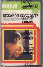 """RICCARDO COCCIANTE """" LE COSE DA CANTARE """"  MC MUSICASSETTA  SIGILLATA  K7"""