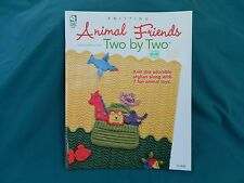 Animal Friends 2 By 2 Knitting Book by House of White Birches