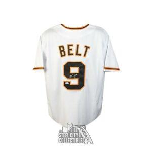 Brandon Belt Autographed San Francisco Giants Custom Baseball Jersey - BAS COA