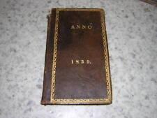 1859.annuaire protestantisme.Kerkboek + almanak Kaiser