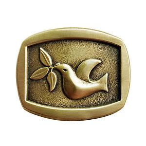 Peace Dove Belt Buckle OBMS101 IMC-Retail