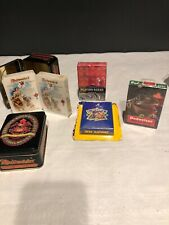 Vintage Budweiser Anheuser New 2 Decks Playing Cards w/ Collector Tin Lot Joe C
