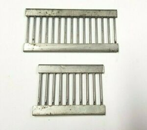 BROTHER SILVER REED KNITTING MACHINE 15 & 10 STITCH 4.5MM TRANSFER DECKER COMBS