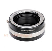 Nikon G AFS Lens to Micro M4/3 M4/3 Camera Adapter Aperture Control Ring