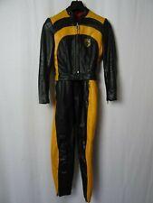 Men's Vintage HARRO Leather Motorcycle Race Suit 36R W30 L28