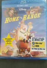 HOME ON THE RANGE, Disney, Blu-Ray + DVD, 2 disc combo