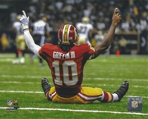 "Robert Griffin III Washington Redskins NFL Action Photo PD202 (Size: 8"" x 10"")"