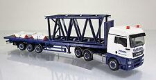 "Herpa LKW 304696 MAN TGX XLX Euro 5 Rungen-SZ  Derrick-Gittermast 6m "" Wasel """
