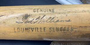 "VTG 34"" H&B Louisville Slugger 125 TED WILLIAMS - BROWN UNIVERSITY Baseball Bat"