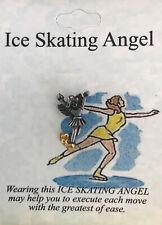 New listing Ice Skating Angel Pin - New - Gift Boxed