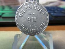 Allentown Pa / The Pergola Gf .05 Any Afternoon Token 26mm Al
