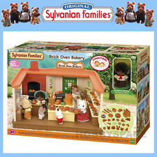 SYLVANIAN FAMILIES BRICK OVEN BAKERY w HEDGEHOG MOTHER READY TO PLAY SET 5237