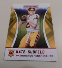 2016 PANINI ROOKIES AND STARS #232 NATE SUDFELD ROOKIE RED PARALLEL CARD