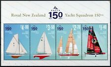 More details for new zealand nz 2021 mnh boats stamps royal yacht squadron rnzys nautical 4v m/s