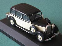 MB Mercedes Benz 260 D W138 beige/schwarz Whitebox 1:43 Oldtimer Modellauto NEU