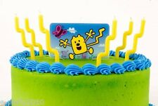 WOW! WOW! WUBBZY CANDLE DECORATION SET (7pc) ~ Birthday Party Supplies Cake