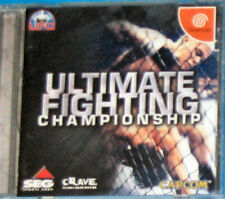 Ultimate Fighting Championship- Sega Dreamcast - Jap JP