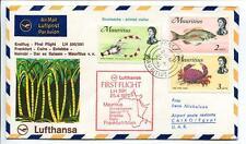 FFC 1970 Lufthansa PRIMO VOLO LH 591 - Framcoforte Cairo Nairobi Mauritius