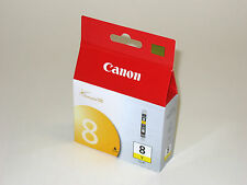 Genuine Canon CLI-8 yellow ink cli8y Pro 9000 Pro9000 Mark II printer CLI8 8