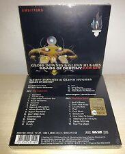 2 CD GEOFF DOWNES & GLENN HUGHES - ROADS OF DESTINY - NUOVO NEW