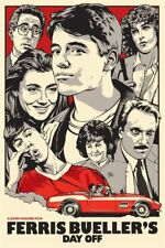 """""""Ferris Bueller's Day Off """"Movie T-shirt -All Sizes *High Quality* 80's"""