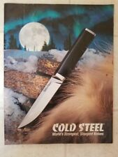 Cold Steel Knife Catalog 2007