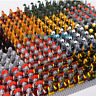 21x Minifigures Medieval Kingdom Soldiers Knight Medieval Army Military Lego MOC