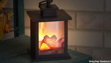 Flame Effect Style Lantern with Hanging Loop