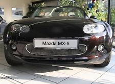 Mazda MX-5 NC Edelstahl Kühlergrill Oben 1-Teilig 05-09 Kühlergitter Frontgrill
