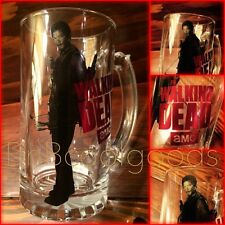 "AMC The Walking Dead Daryl Dixon Bar Glass Handle Mug 6"" Tall         SHIPS FAST"
