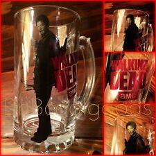 "AMC The Walking Dead Daryl Dixon Bar Glass Handle Mug 6"" Tall         SHIPS FAST"