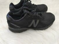 New Balance 990v4 Men's Running Shoe Made in USA Black Size 7.5W Men's M990BB4