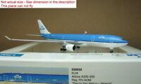 1:500 Herpa Wings KLM A330-200 PH-AOM #530552 Diecast metal model plane